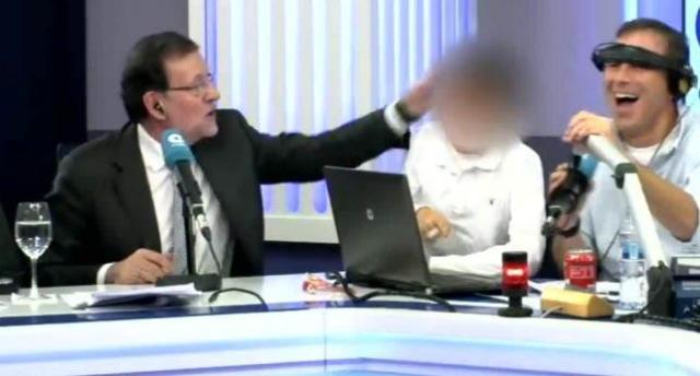 La colleja de Rajoy